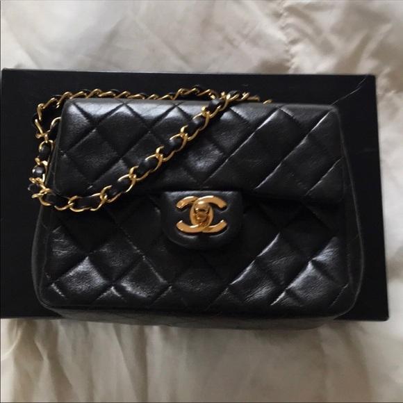 7fd9ad0f6512 CHANEL Handbags - Vintage Chanel square mini